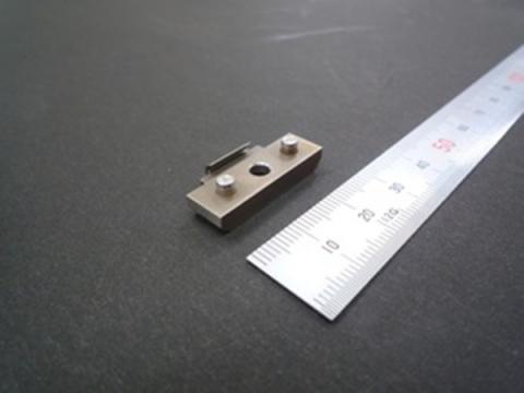 検査治具(検具、CF)の部品 クリップ SUS303