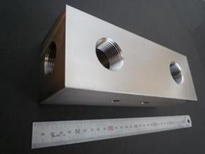 油圧用マニホールドブロック ステンレス(SUS304)